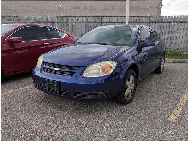 2007 Chevrolet Cobalt LT/AC/PWR LCKS&MIRS/CRUISE/FOGS/SPOILR (Stk: 256993A) in Milton - Image 1 of 2
