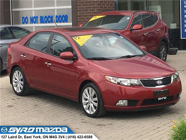 2012 Kia Forte 2.4L SX (Stk: 28668A) in East York - Image 1 of 28