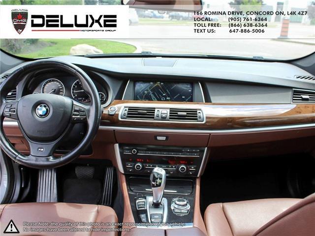 2013 BMW 535i xDrive Gran Turismo (Stk: D0600) in Concord - Image 13 of 18