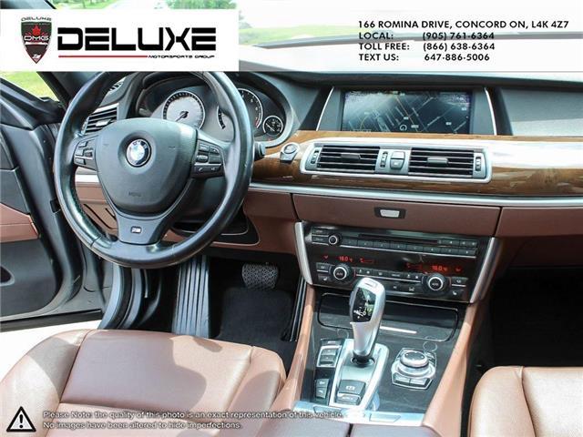 2013 BMW 535i xDrive Gran Turismo (Stk: D0600) in Concord - Image 14 of 18