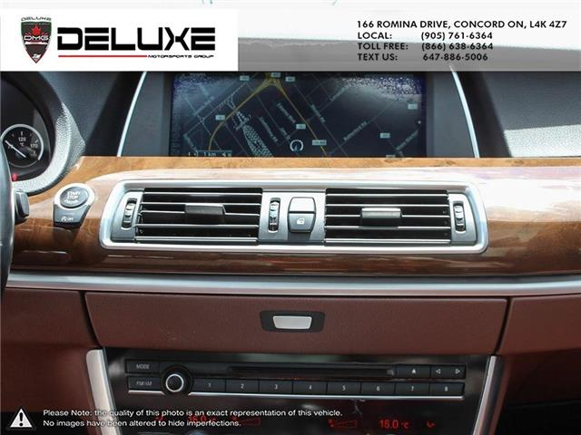 2013 BMW 535i xDrive Gran Turismo (Stk: D0600) in Concord - Image 15 of 18