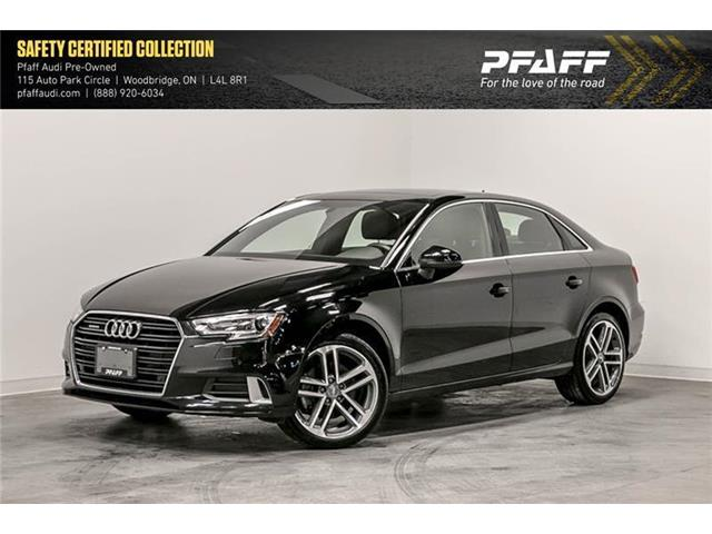2018 Audi A3 2.0T Progressiv (Stk: C6860) in Vaughan - Image 1 of 21