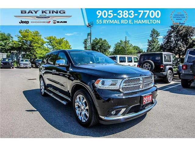 2018 Dodge Durango Citadel (Stk: 6867) in Hamilton - Image 1 of 30
