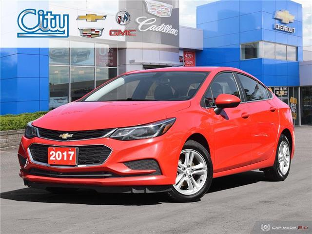 2017 Chevrolet Cruze LT Auto (Stk: R12246A) in Toronto - Image 1 of 27