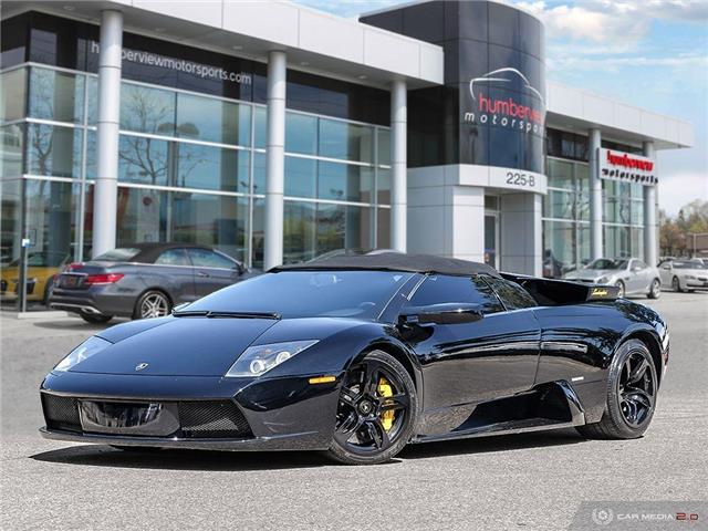 2005 Lamborghini Murcielago ROADSTER | AWD | LOW MILEAGE | 571 hp @ 5700 rpm (Stk: 18MSX654) in Mississauga - Image 1 of 30