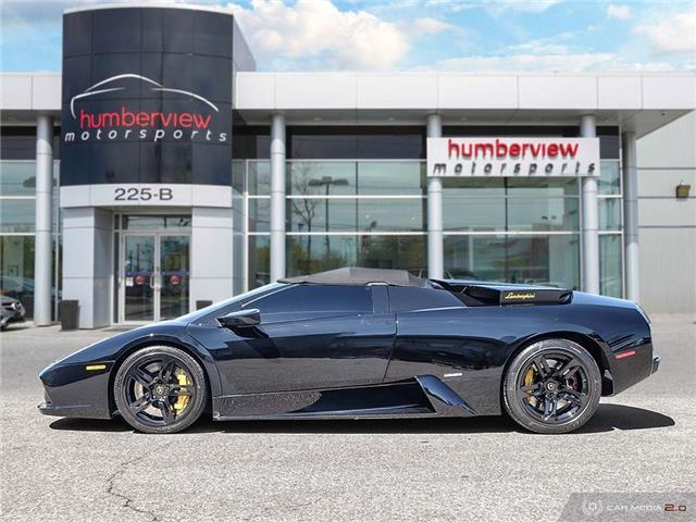 2005 Lamborghini Murcielago ROADSTER | AWD | LOW MILEAGE | 571 hp @ 5700 rpm (Stk: 18MSX654) in Mississauga - Image 3 of 30