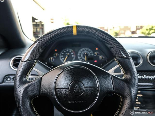 2005 Lamborghini Murcielago ROADSTER | AWD | LOW MILEAGE | 571 hp @ 5700 rpm (Stk: 18MSX654) in Mississauga - Image 19 of 30