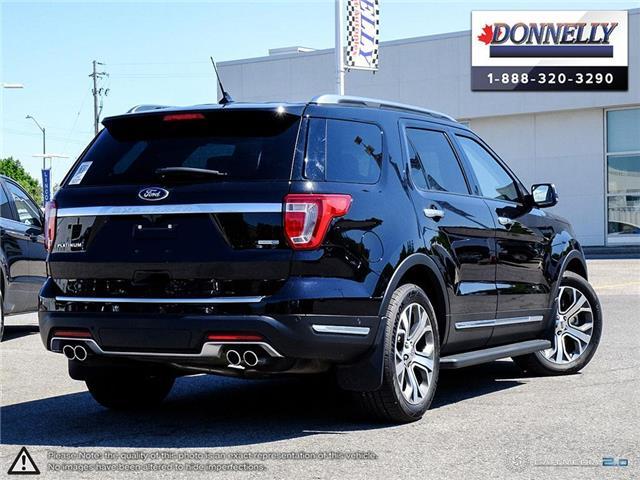2019 Ford Explorer Platinum (Stk: PLDU6173) in Ottawa - Image 4 of 28