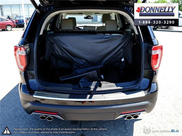 2019 Ford Explorer Platinum (Stk: PLDU6173) in Ottawa - Image 10 of 28