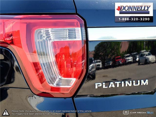 2019 Ford Explorer Platinum (Stk: PLDU6173) in Ottawa - Image 11 of 28