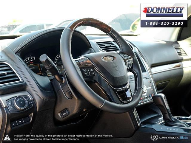 2019 Ford Explorer Platinum (Stk: PLDU6173) in Ottawa - Image 12 of 28