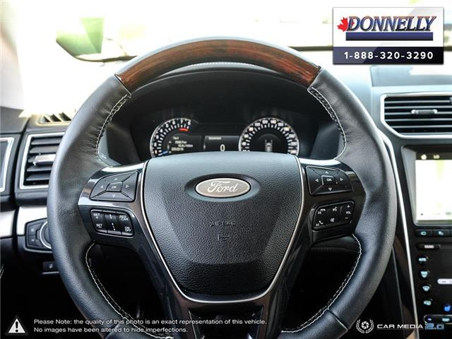2019 Ford Explorer Platinum (Stk: PLDU6173) in Ottawa - Image 13 of 28