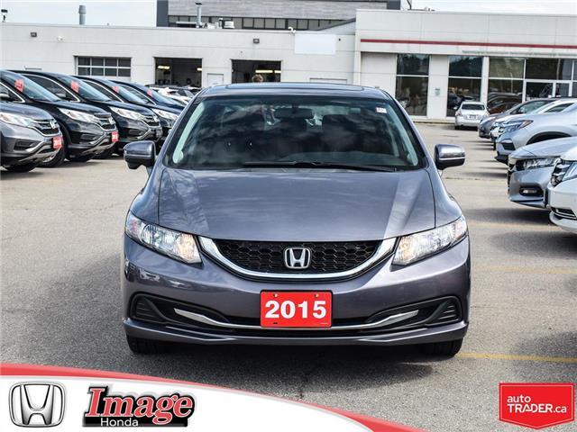 2015 Honda Civic EX (Stk: 9C520A) in Hamilton - Image 2 of 21