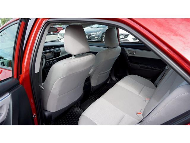 2015 Toyota Corolla  (Stk: HU827) in Hamilton - Image 24 of 36