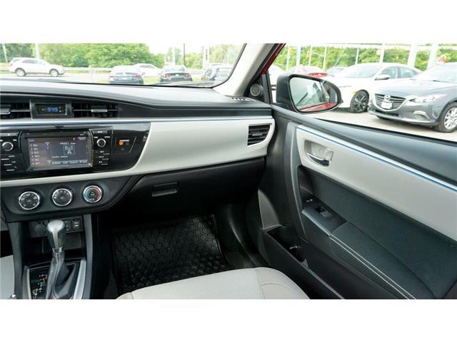 2015 Toyota Corolla  (Stk: HU827) in Hamilton - Image 30 of 36
