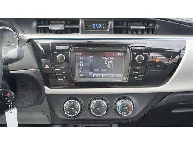 2015 Toyota Corolla  (Stk: HU827) in Hamilton - Image 31 of 36