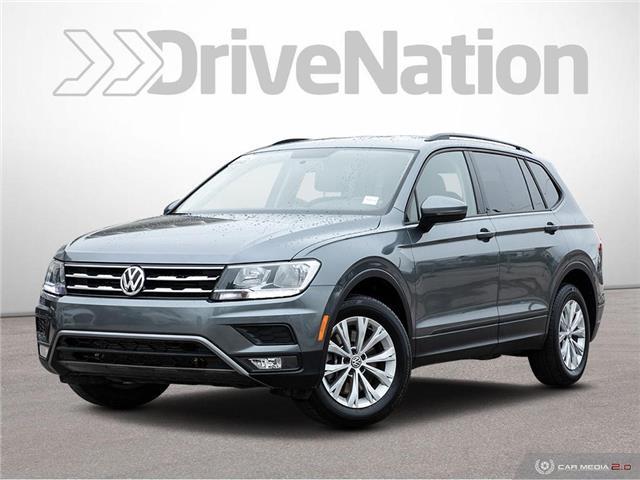 2018 Volkswagen Tiguan Trendline (Stk: NE222) in Calgary - Image 1 of 27