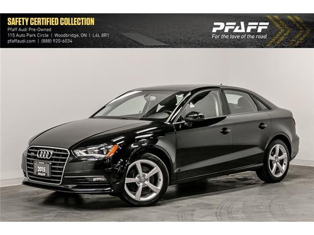 2015 Audi A3 2.0T Komfort (Stk: C6845) in Woodbridge - Image 1 of 21