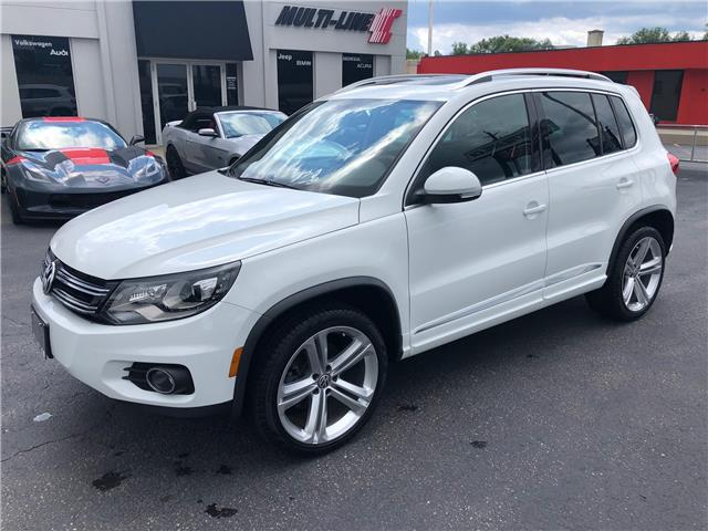 2016 Volkswagen Tiguan Highline (Stk: Tigs) in Oakville - Image 1 of 13