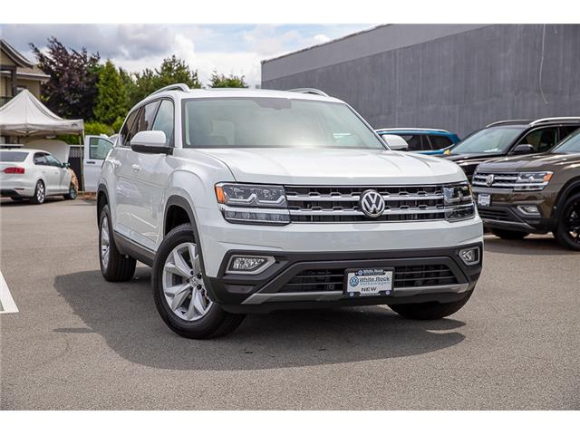 2019 Volkswagen Atlas 3.6 FSI Highline (Stk: KA530996) in Vancouver - Image 1 of 29