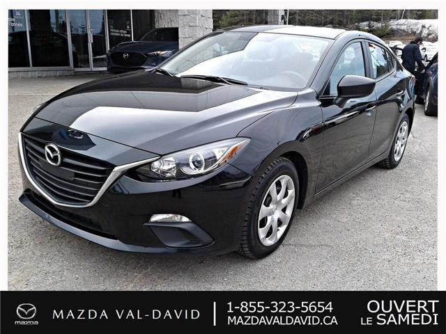 2015 Mazda Mazda3 GX (Stk: B1626) in Val-David - Image 1 of 17