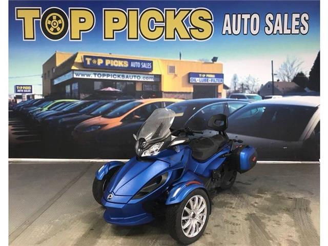 2015 BRP CAN-AM SPYDER CAN AM SPYDER ST LIMITED! !ONE OWNER! NAVIGATION! (Stk: 000564) in NORTH BAY - Image 1 of 10