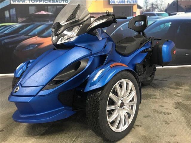 2015 BRP CAN-AM SPYDER CAN AM SPYDER ST LIMITED! !ONE OWNER! NAVIGATION! (Stk: 000564) in NORTH BAY - Image 2 of 10