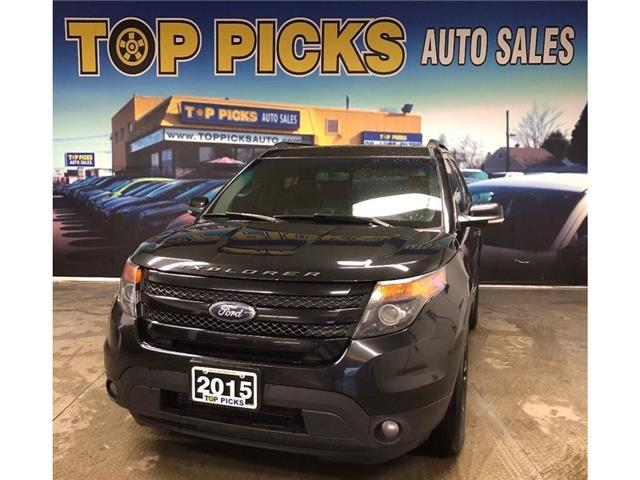 2015 Ford Explorer Sport (Stk: b04254) in NORTH BAY - Image 1 of 29
