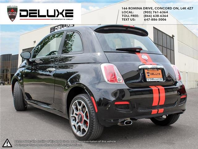2012 Fiat 500 Sport (Stk: D0587) in Concord - Image 4 of 15