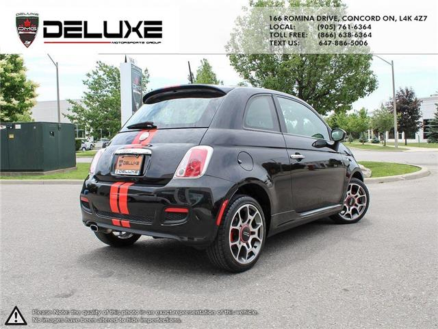 2012 Fiat 500 Sport (Stk: D0587) in Concord - Image 6 of 15