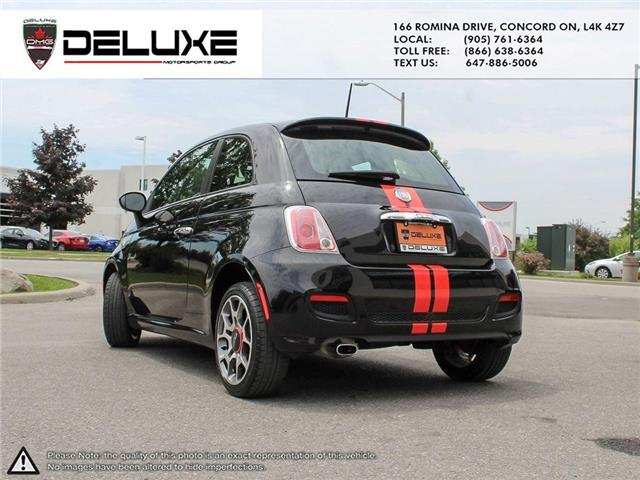 2012 Fiat 500 Sport (Stk: D0587) in Concord - Image 7 of 15