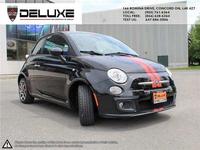 2012 Fiat 500 Sport (Stk: D0587) in Concord - Image 8 of 15