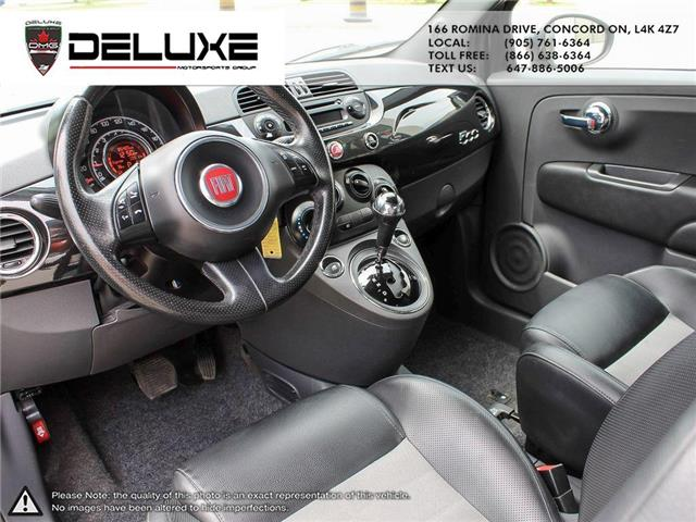 2012 Fiat 500 Sport (Stk: D0587) in Concord - Image 11 of 15
