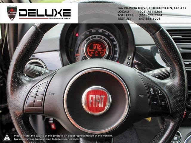 2012 Fiat 500 Sport (Stk: D0587) in Concord - Image 15 of 15