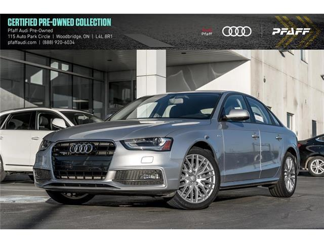 2015 Audi A4 2.0T Komfort (Stk: C6789) in Woodbridge - Image 1 of 21