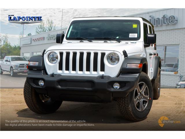 2019 Jeep Wrangler Unlimited Sport (Stk: 19343) in Pembroke - Image 1 of 20
