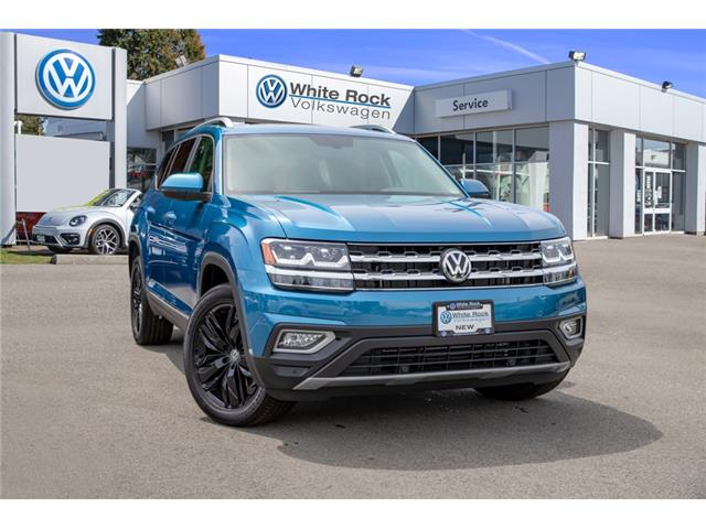2019 Volkswagen Atlas 3.6 FSI Highline (Stk: KA535186) in Vancouver - Image 1 of 30