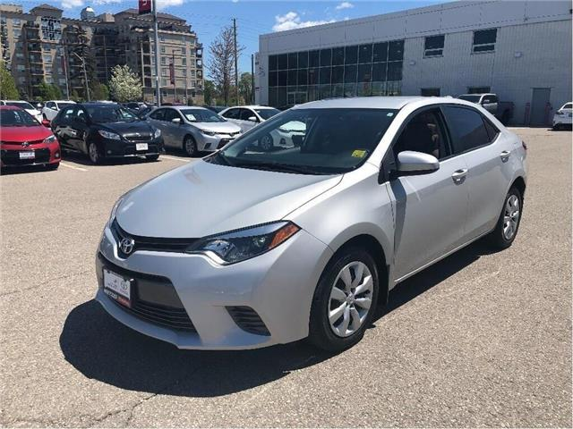 2016 Toyota Corolla  (Stk: u2560) in Vaughan - Image 1 of 15