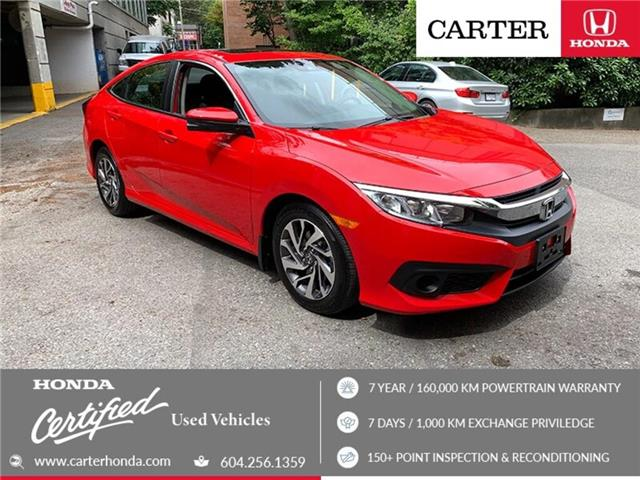 2018 Honda Civic EX (Stk: 2K12131) in Vancouver - Image 1 of 23