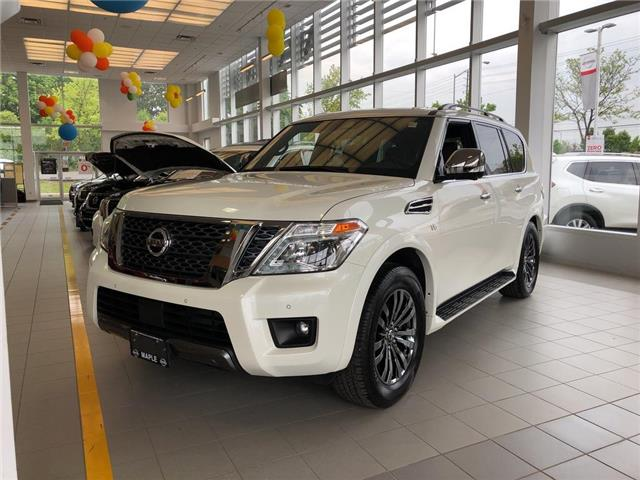2019 Nissan Armada Platinum Reserve, BOSE, NAVI, DVD+++ (Stk: M19A002) in Maple - Image 1 of 25
