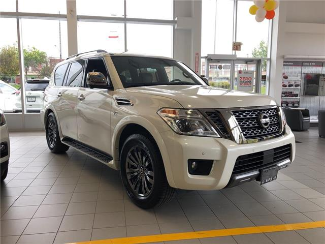 2019 Nissan Armada Platinum Reserve, BOSE, NAVI, DVD+++ (Stk: M19A002) in Maple - Image 2 of 25