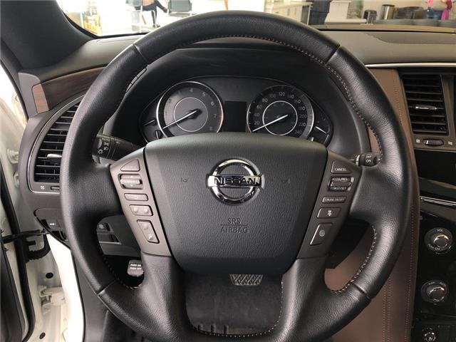 2019 Nissan Armada Platinum Reserve, BOSE, NAVI, DVD+++ (Stk: M19A002) in Maple - Image 8 of 25