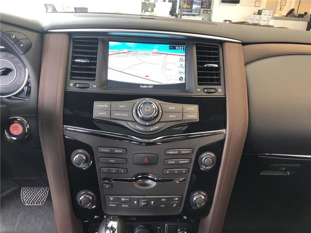 2019 Nissan Armada Platinum Reserve, BOSE, NAVI, DVD+++ (Stk: M19A002) in Maple - Image 12 of 25