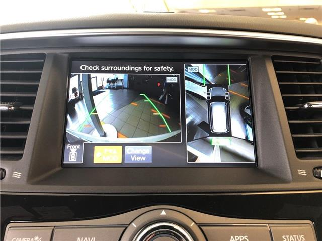 2019 Nissan Armada Platinum Reserve, BOSE, NAVI, DVD+++ (Stk: M19A002) in Maple - Image 14 of 25