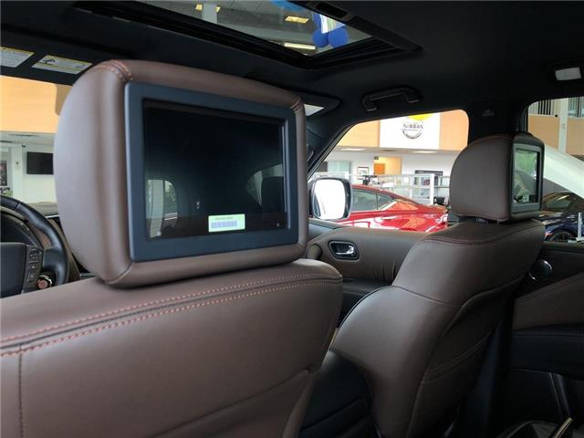 2019 Nissan Armada Platinum Reserve, BOSE, NAVI, DVD+++ (Stk: M19A002) in Maple - Image 21 of 25