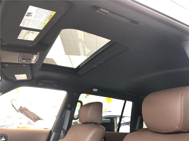 2019 Nissan Armada Platinum Reserve, BOSE, NAVI, DVD+++ (Stk: M19A002) in Maple - Image 23 of 25