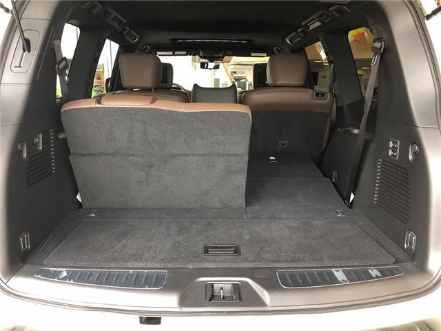 2019 Nissan Armada Platinum Reserve, BOSE, NAVI, DVD+++ (Stk: M19A002) in Maple - Image 25 of 25