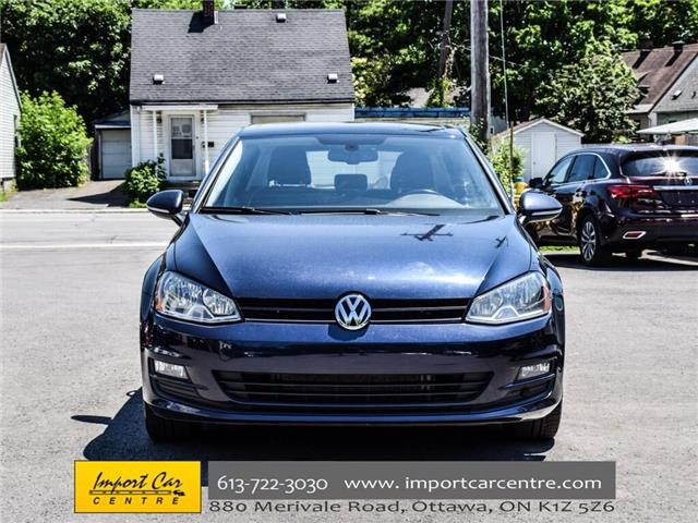 2015 Volkswagen Golf 2.0 TDI Comfortline (Stk: 028084) in Ottawa - Image 2 of 30