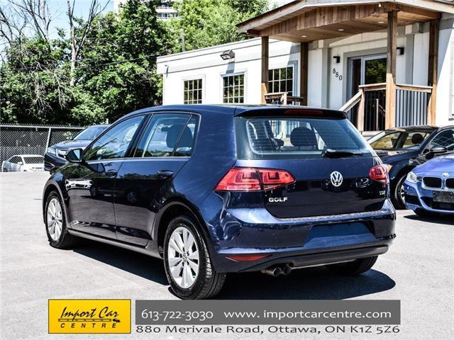 2015 Volkswagen Golf 2.0 TDI Comfortline (Stk: 028084) in Ottawa - Image 5 of 30