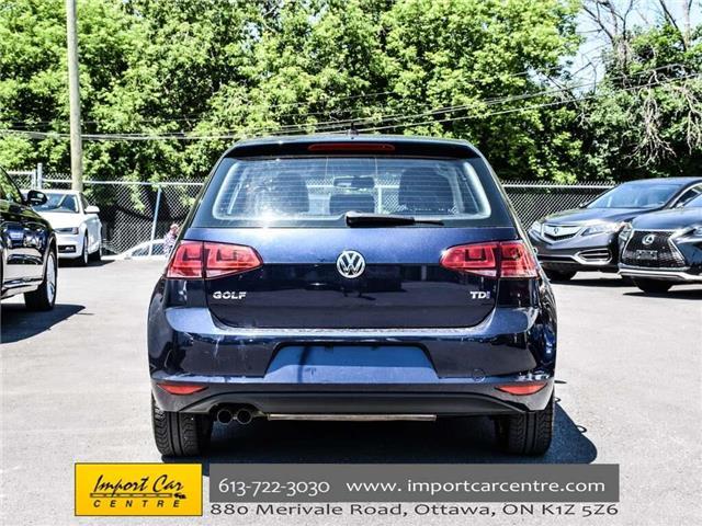 2015 Volkswagen Golf 2.0 TDI Comfortline (Stk: 028084) in Ottawa - Image 7 of 30